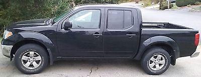 Nissan : Frontier SE Crew Cab Pickup 4-Door 2010 nissan frontier se v 6 crew cab auto black 4 door 4 x 4 bed liner