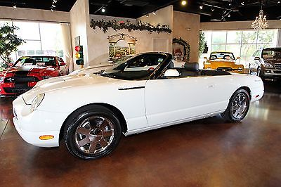 Ford : Thunderbird Premium Edition Convertible w/Dual Tops 2002 ford premium edition convertible w dual tops