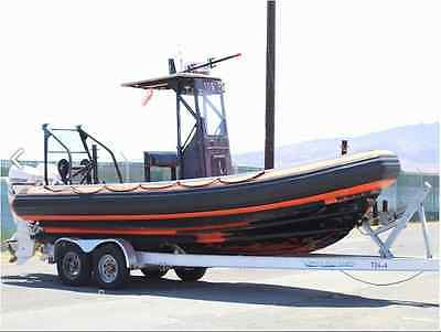733 Zodiac Hurricane with Twin 2009 150 Evinrudes