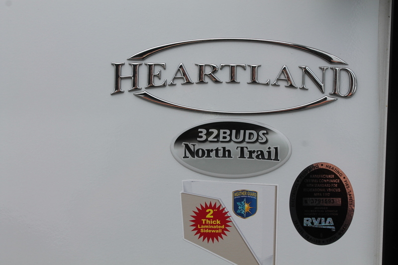 Heartland North Trail King Slides Nt King 32buds Rvs For Sale