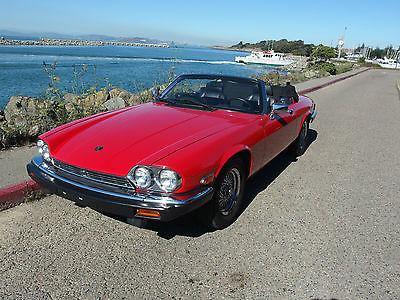 Jaguar : XJ12 XJS 1990 jaguar xjs convertible 1 owner 300 pages of impeccable records dream big