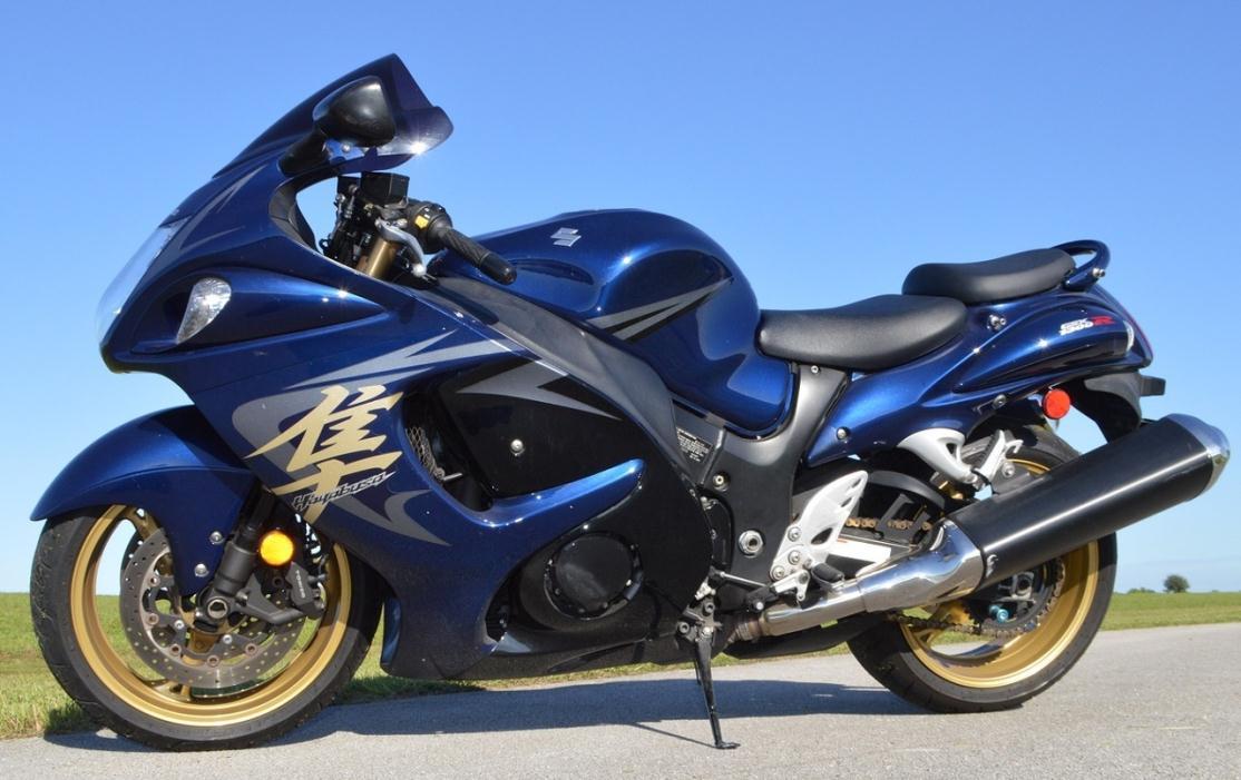 Blue 2008 Suzuki Hayabusa Motorcycles For Sale