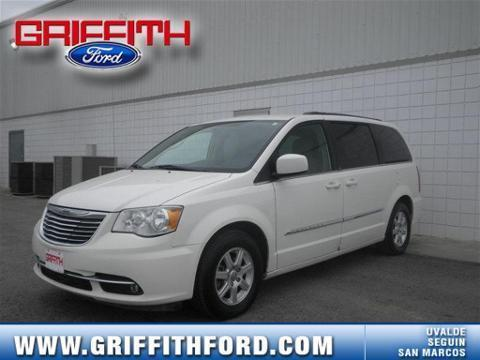2011 CHRYSLER TOWN & COUNTRY 4 DOOR PASSENGER VAN