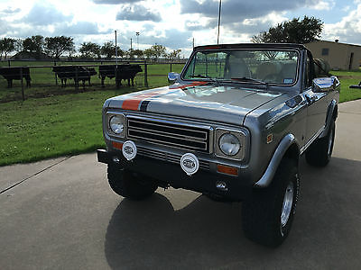 International Harvester : Scout International Scout II