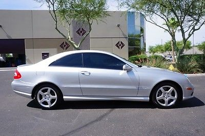 Mercedes-Benz : CLK-Class CLK 500 2 owner clean car fax no accidents very low miles looks and drives great