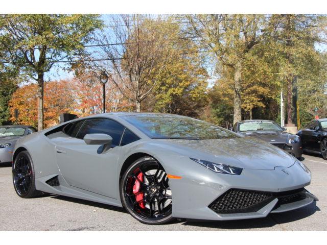 Lamborghini : Other HURACAN -LP610, GRIGIO TELESTO, TEB, CLEAR BRA, DYN PWR STEERING, REAR CAM, BICOLOR INT!