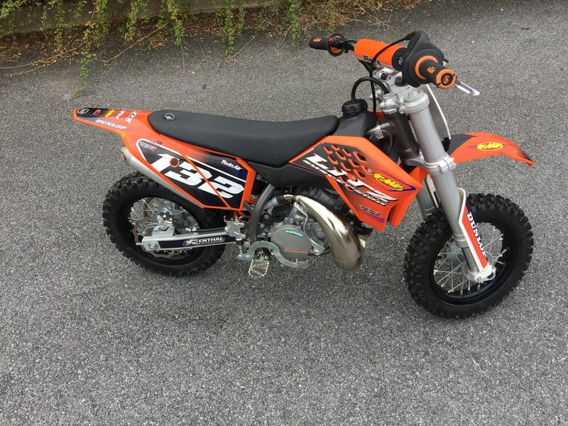 graphic ktm 50 sx motorcycles for sale. Black Bedroom Furniture Sets. Home Design Ideas