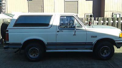 Ford : Bronco XLT bronco 90'
