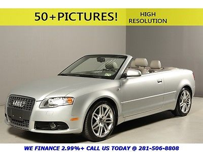 Audi : A4 2009 2.0T S-LINE CONVERTIBLE NAV SPORT LEATHER 18