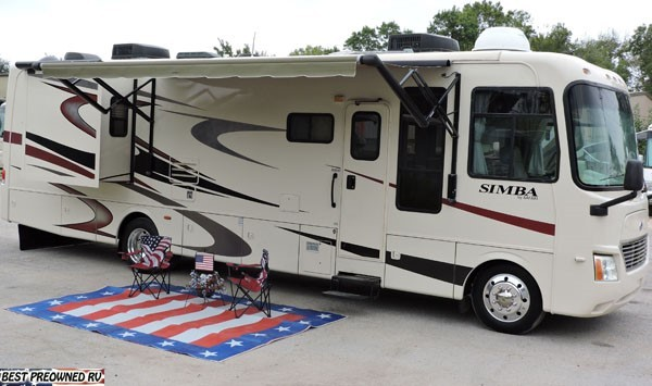 2008 Safari Simba 36 DBD bath & 1/2