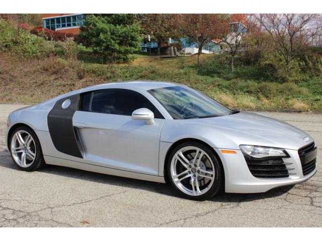 Audi : R8 R8 Quattro 2008 audi r 8 quattro awd auto r tronic 4.2 l v 8 only 38 670 miles clean carfax