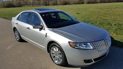 Lincoln : MKZ/Zephyr MKZ 68 k original miles black leather loaded beautiful