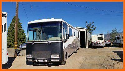 1999 Fleetwood Southwind 36' Class A & Tow Vehicle Blue Ox Tow  Bar CALIFORNIA