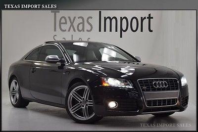 Audi : S5 PRESTIGE V8 COUPE 6-SPEED MANUAL 2010 s 5 coupe prestige v 8 6 speed manual
