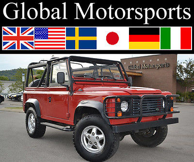 Land Rover : Defender Locally Owned/Low Miles/Factory AC/Rare! 1995 defender locally owned low miles factory ac 4 x 4 nice
