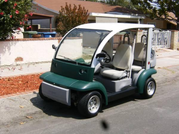 Golf Cart Ford Think Electric Car 4 Seater Utility Cart with charger