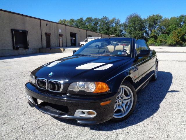 BMW : 3-Series 330Ci 2dr Co 2001 bmw 330 ci sport convertible 5 spd tv dvd rear camera non smoker only 105 k