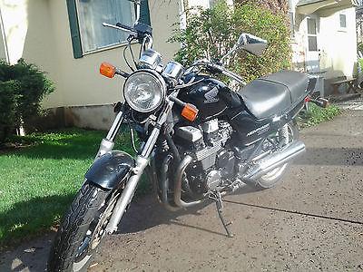 Honda : Nighthawk 2002 black honda nighthawk 750