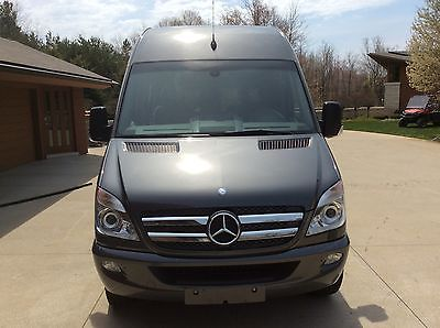 2013 Mercedes Benz uplifted Van, 9 passenger,graphite gray metallic, high roof