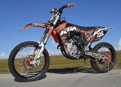 KTM : SX 2011 ktm 350 sx f motocross factory super cross only 21 hours 7 500 in extras