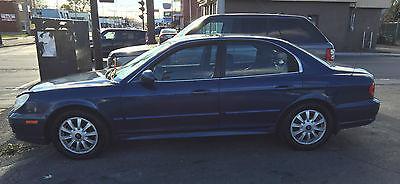 Hyundai : Sonata GLS Sedan 4-Door 2005 hyundai sonata gls glx sedan 4 door 2.7 l v 6 leather