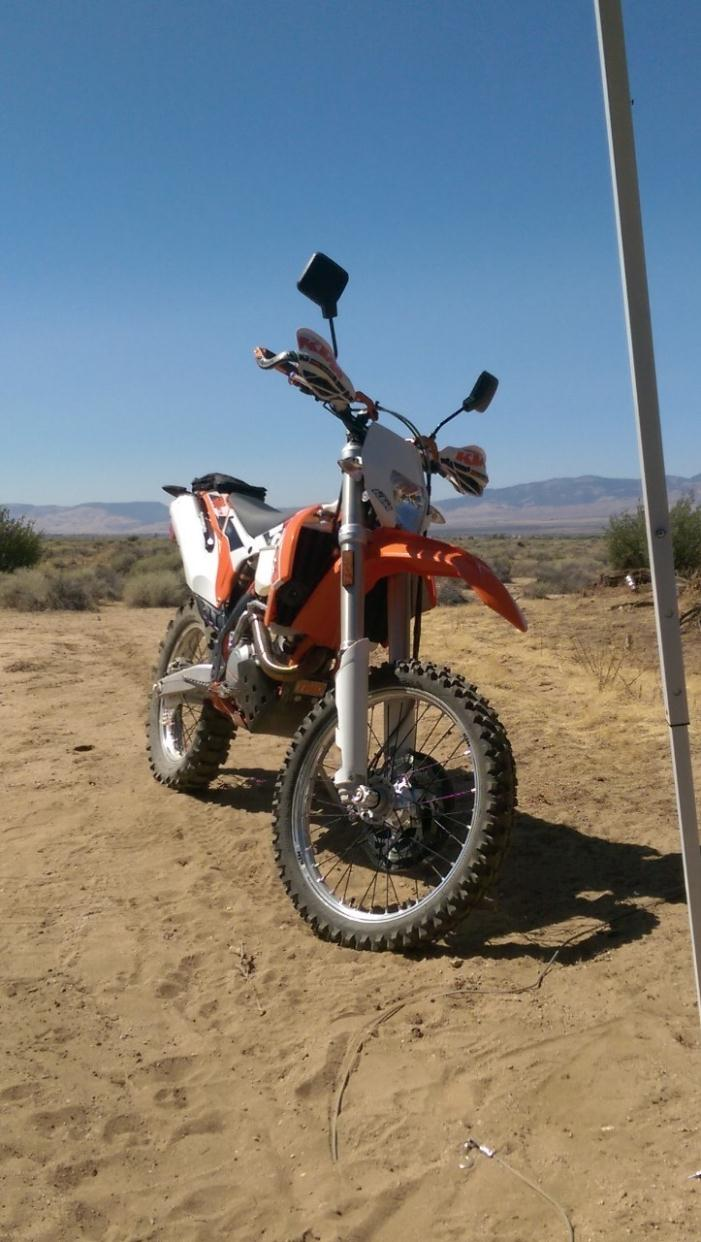 ktm 500 exc motorcycles for sale in long beach california. Black Bedroom Furniture Sets. Home Design Ideas