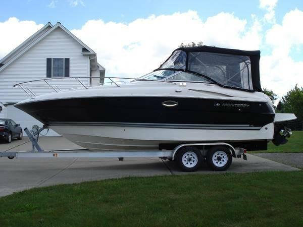Monterey 250 Cruiser Boats For Sale