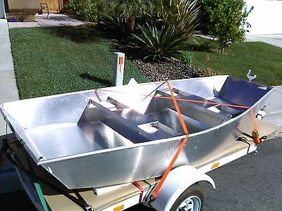 MINI DRIFTER 10' DRIFT BOAT Almarco Aluminum steelhead salmon trout bass