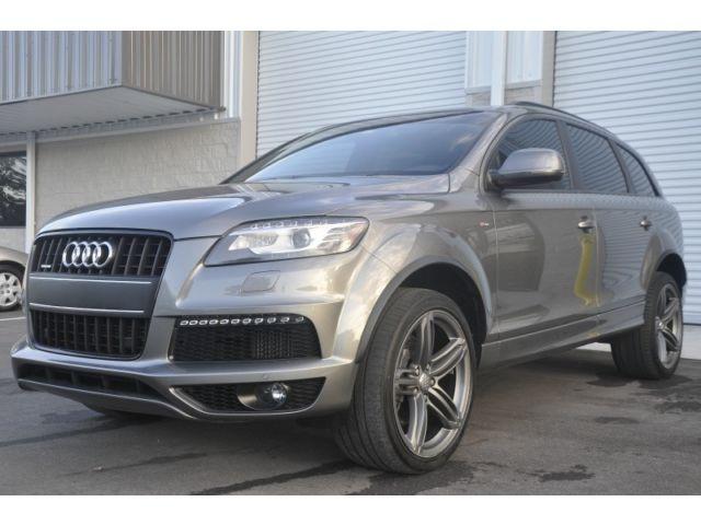 Audi : Q7 quattro 4dr NAV CAM BOSE  LEDS TDI S LINE PRESTIGE PANOROOF PUSH START BIXENON 76