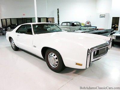 Oldsmobile : Toronado GT/W34 1970 oldsmobile toronado gt only 73 k orig miles stunning car must see