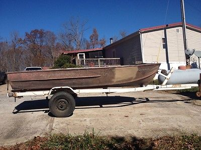 14ft boat with trailer