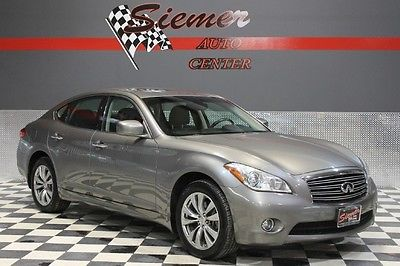 Infiniti : M sedan silver, black leather, sunroof,  awd,