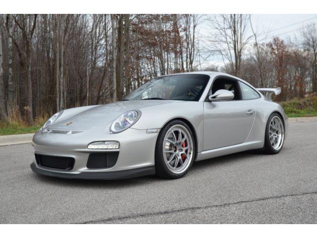 Porsche : 911 GT3 2010 porsche gt 3 carbon sport buckets clearbra sport chrono fresh service