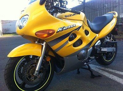 Suzuki : GSX / Katana Suzuki Katana GSX 600 sport touring low kms