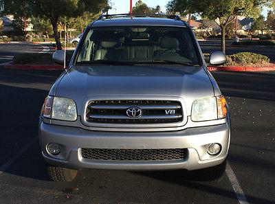 Toyota : Sequoia Limited Sport Utility 4-Door 2003 toyota sequoia limited suv w 3 rd row seats
