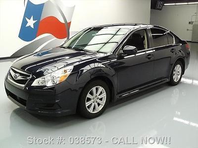 Subaru : Legacy 2.5I PREMIUM AWD HEATED LEATHER 2012 subaru legacy 2.5 i premium awd heated leather 27 k 038573 texas direct auto