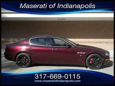 Maserati : Quattroporte 2007 maserati quattroporte executive gt