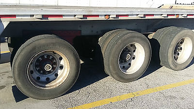 reitnouer flatbed tri axle trailer