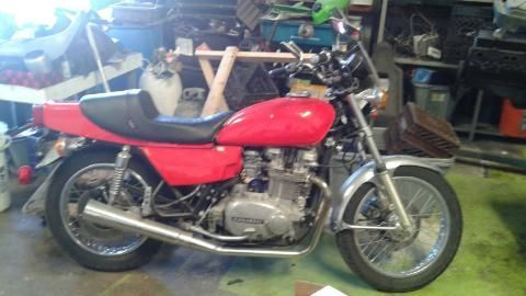 1978 Kawasaki KZ750 Like New