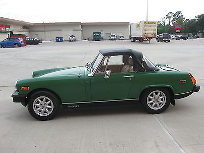 MG : Midget Convertible 2-Door 1979 mg midget convertible 2 door 1.5 l