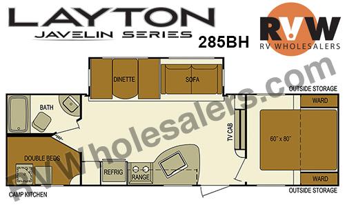 2016 Skyline Layton 285BH