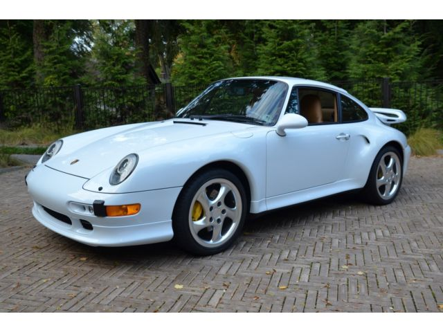 Porsche : 911 Turbo S 1997 porsche 993 turbo s two owners fully documented all original