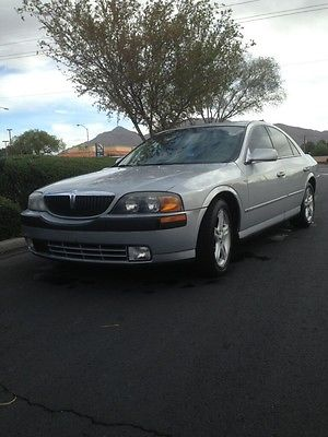 Lincoln : LS Sport Sedan 4-Door 2001 lincoln ls fully loaded special edition sports package