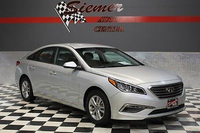 Hyundai : Sonata 2.4L SE silver