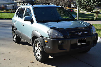 Hyundai : Tucson SE Sport Utility 4-Door 2007 hyundai tucson se suv low miles 4 wd sunroof