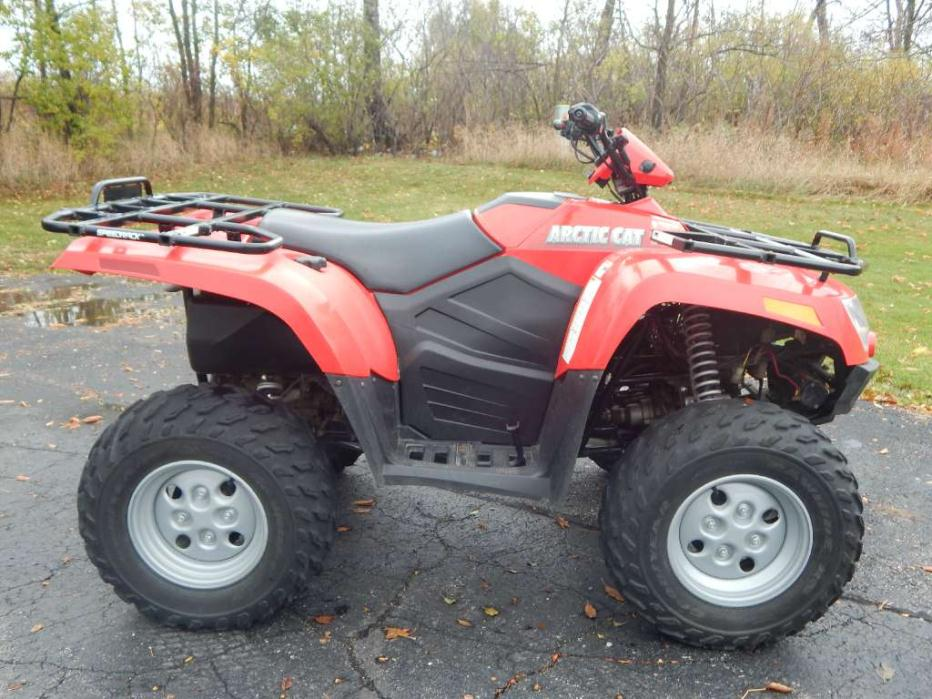 arctic cat 400 4x4 motorcycles for sale in big bend wisconsin. Black Bedroom Furniture Sets. Home Design Ideas