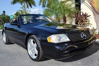 Mercedes-Benz : SL-Class 2002 mercedes sl 500 convertible 65 k miles regularly serviced heated leather