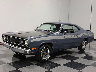 Plymouth : Duster 5.7 liter hemi swap auto w overdrive flowmaster duals front discs gr 8 driver