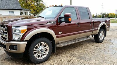 Ford : F-350 King Ranch 2013 ford f 350 king ranch 6.7 l diesel automatic four wheel drive loaded