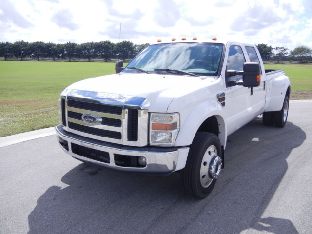 Ford : Other Pickups 4WD Crew Cab 2008 ford f 450 super duty crew cab xlt 4 x 4 drw